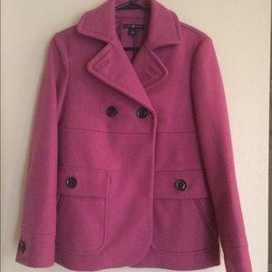 Gap Pink Pea Coat (S)